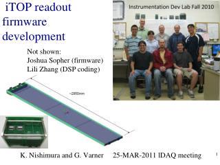 iTOP readout firmware development