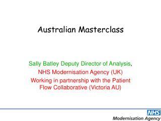Australian Masterclass
