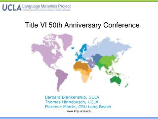 Title VI 50th Anniversary Conference