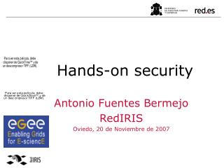 Hands-on security