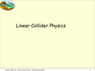 Linear Collider Physics