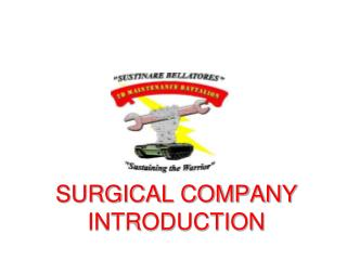 SURGICAL COMPANY INTRODUCTION