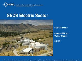 SEDS Electric Sector