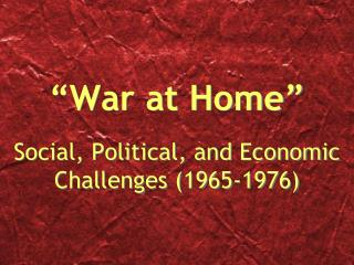"""War at Home"""