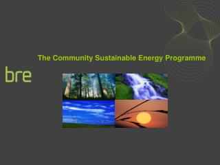 The Community Sustainable Energy Programme