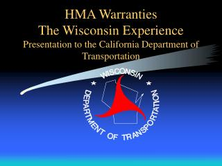 HMA Warranties