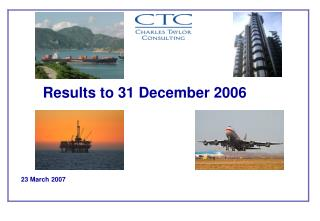 Results to 31 December 2006