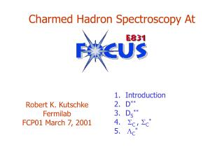 Charmed Hadron Spectroscopy At