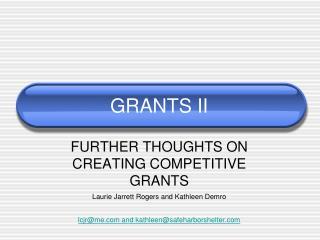 GRANTS II