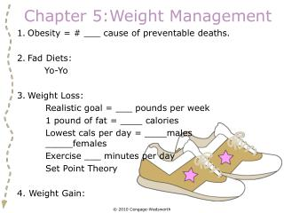 Chapter 5:Weight Management