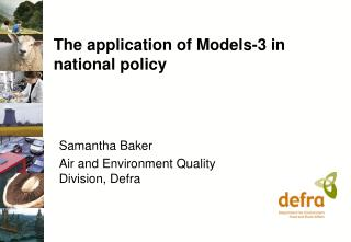 The application of Models-3 in national policy