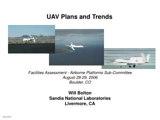 UAV Plans and Trends