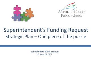 School Board Work Session October 24, 2013