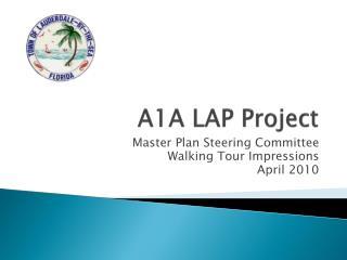 A1A LAP Project