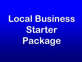 Local Business Starter Package