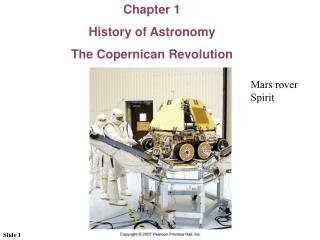 Chapter 1 History of Astronomy The Copernican Revolution
