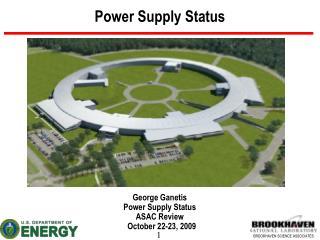 Power Supply Status