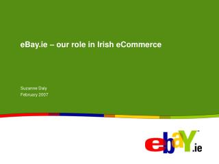 eBay.ie � our role in Irish eCommerce