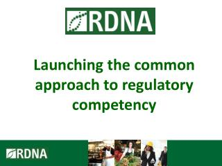 Launching the common approach to regulatory competency