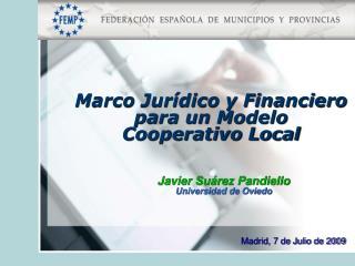Javier Suárez Pandiello Universidad de Oviedo