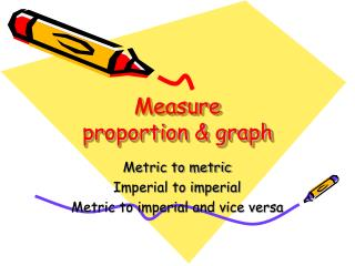 Measure proportion & graph