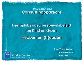 Consultingopdracht