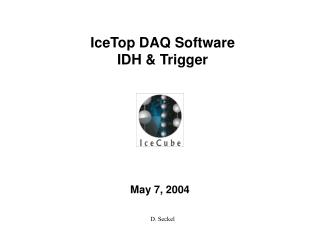 IceCube DAQ Architecture