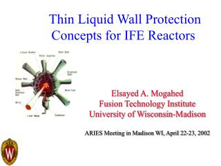 Thin Liquid Wall Protection Concepts for IFE Reactors