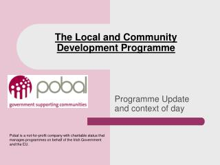 The Local and Community Development Programme