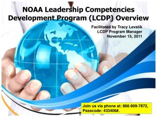 NOAA Leadership Competencies Development Program (LCDP) Overview