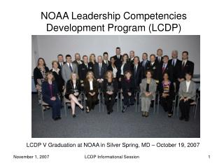 NOAA Leadership Competencies Development Program (LCDP)