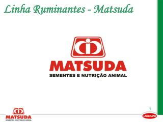 Linha Ruminantes - Matsuda