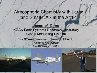 Atmospheric Chemistry with Large and Small UAS in the Arctic