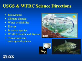 USGS & WFRC Science Directions
