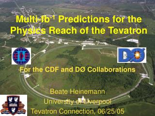 Multi-fb -1  Predictions for the Physics Reach of the Tevatron