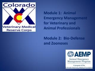 Module 1: Animal Emergency Management for Veterinary and Animal Professionals