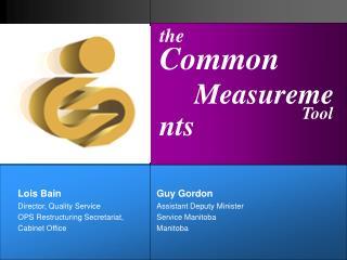 Common  Measurements