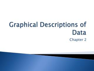 Graphical Descriptions of Data