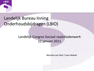 Landelijk Bureau Inning Onderhoudsbijdragen (LBIO)