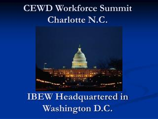 CEWD Workforce Summit Charlotte N.C.