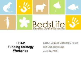 LBAP Funding Strategy Workshop
