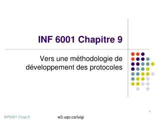 INF 6001 Chapitre 9