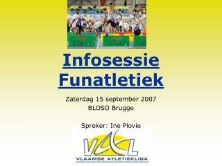 Infosessie Funatletiek