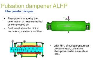 Pulsation dampener ALHP