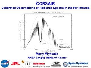 CORSAIR Calibrated Observations of Radiance Spectra in the Far-Infrared