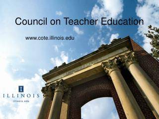 Council on Teacher Education