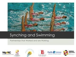 Synching and Swimming