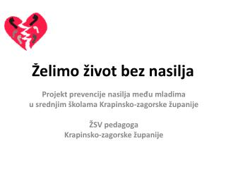 Želimo život bez nasilja