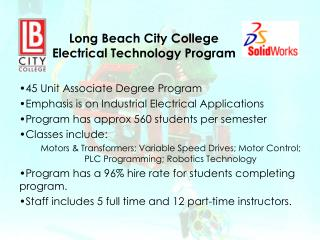 Long Beach City College Electrical Technology Program