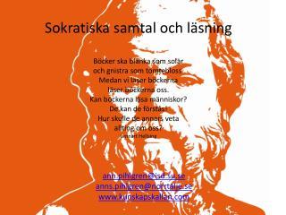 ann.pihlgren@isd.su.se anns.pihlgren@norrtalje.se kunskapskallan